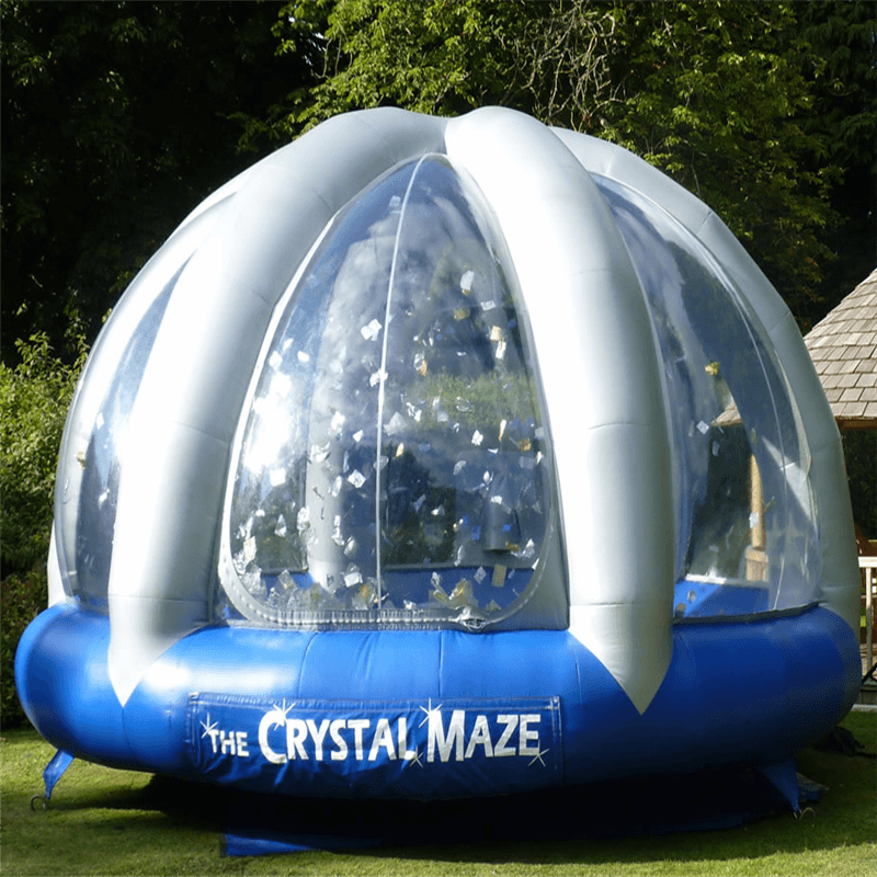 Crystal Maze Dome Hire